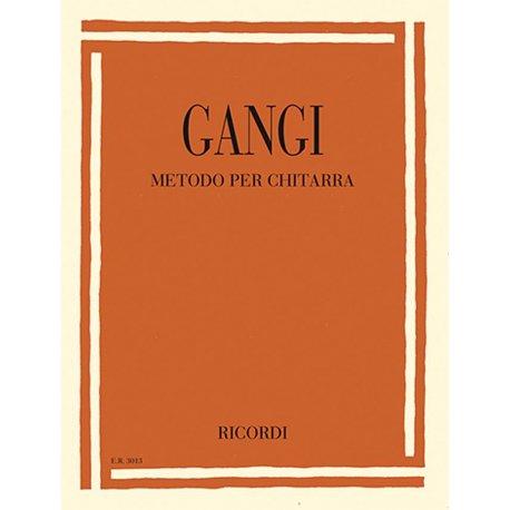 GANGI M. Metodo per chitarra unico