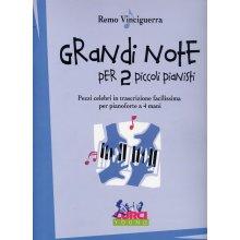 Vincigerra R. Grandi Note per 2 Piccoli Pianisti