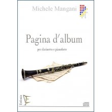 Mangani M. Pagina d'Album per Clarinetto e Pianoforte