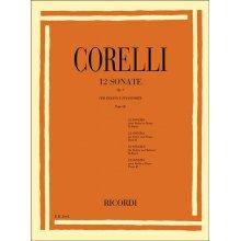 Corelli A. 12 Sonate Op.V per Violino e Pianoforte Parte II