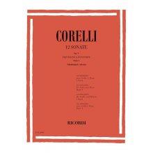 Corelli A.12 Sonate Op.V Parte I (Abbado)