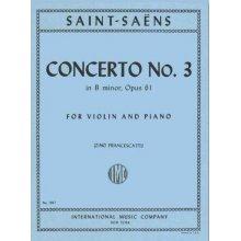 SAINT-SAENS Concerto n.3 in B minor Op.61