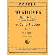 Popper D. 40 Studies of Cello Playing Op.73 (Stutch)