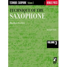VIOLA Technique of the Saxophone vol.3 (Rhythm studies)