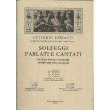 Ciriaco L. Solfeggi Parlati e Cantati (I corso parte 1)
