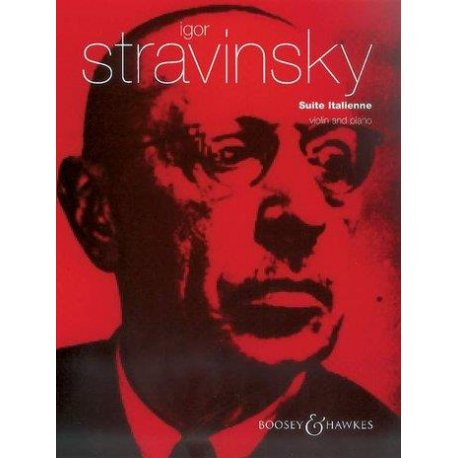 STRAVINSKY I. Suite Italienne violin and piano