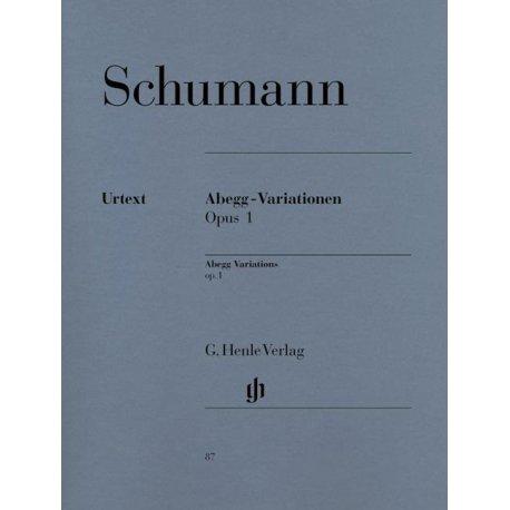 Schumann R. Abegg-Variationen Opus 1