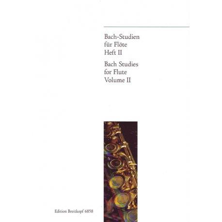 BACH J.S. Studies for Flute Volume II