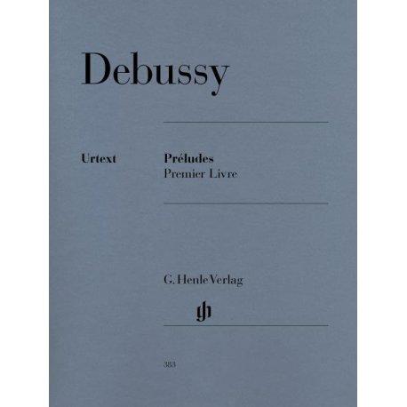 Debussy C. Préludes Premier Livre