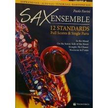 FAVINI P. SAX Ensemble 12 Standardsx soprano, alto, tenore, baritono.