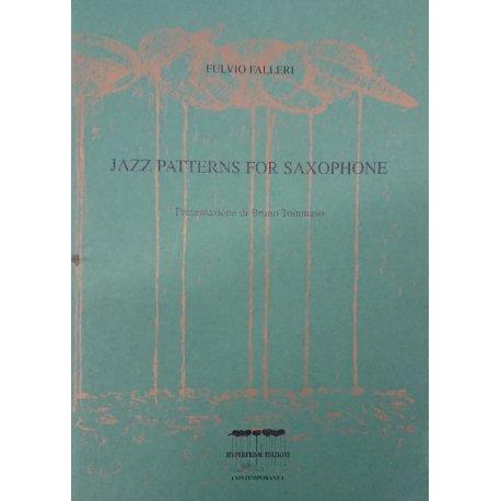 Falleri F. Jazz Patterns For Saxophone