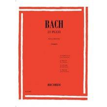 Bach J.S. 21 Pezzi per Clarinetto (Giampieri)