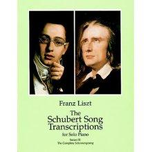 LISZT F. Schubert Song Transcriptions Vol.3