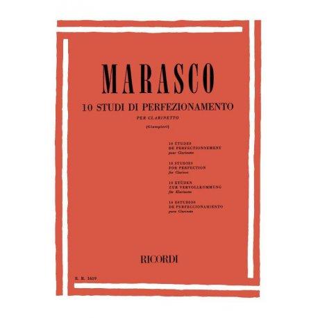 Marasco G. 10 Studi di perfezionamento (Giampieri)