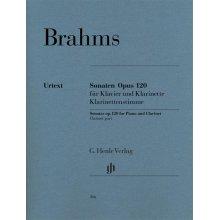 Brahms J. Sonate Op.120 per Clarinetto