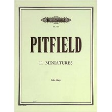 PITFIELD 11 Miniatures for solo Harp