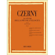 CZERNY C. 24 Studi della Piccola Velocità Op.636 (Pozzolii)