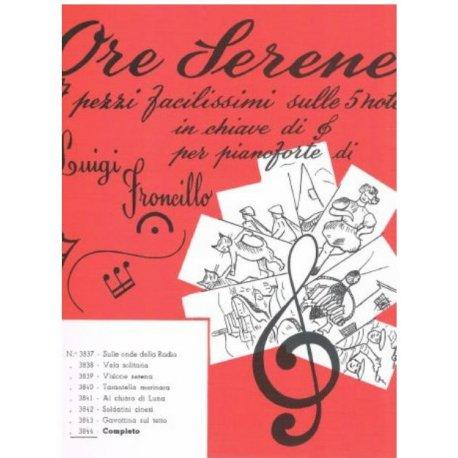 Froncillo L. Ore Serene per Pianoforte