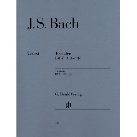 BACH J.S. Toccaten BWV 910-916