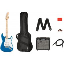 Fender Squier Affinity Strat HSS MN LPB Pack