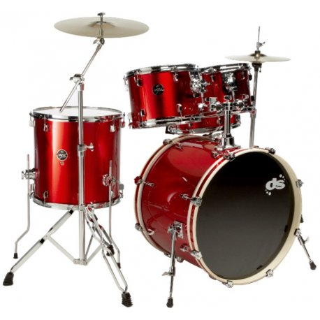 DS Drum DSX2251 Candy Red Sparkle