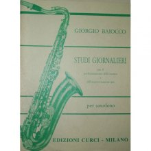 BAIOCCO Studi Giornalieri per saxofono