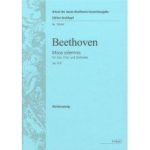 BEETHOVEN Missa Solemnis D-dur op. 123