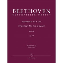 BEETHOVEN Sinfonia N.9 Finale (Vocal Score)