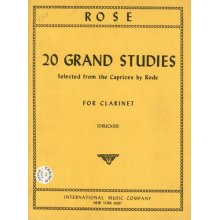 ROSE 20 Grand Studies (from caprices by Rode)