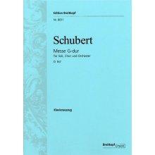SCHUBERT Messe G-dur