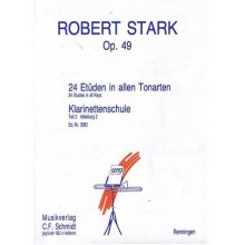 STARK R. Method for the clarinet op.49 Teil 2-2