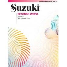 SUZUKI Recorder School (Alto Recorder) Vol. 1