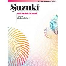 SUZUKI Recorder School (Alto Recorder) Vol. 2