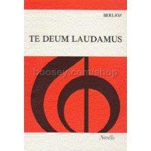 BERLIOZ Te Deum Laudamus (Vocal Score)
