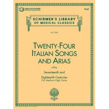 Twenty-Four Italian Songs and Arias (Sec.XVII-XVIII)