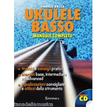 VACCA D. Ukulele Basso Manuale Completo
