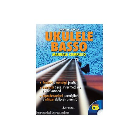 VACCA D. Ukulele Basso Manuale Completo