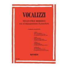 Vocalizzi nello stile moderno per voce acuta (2°serie)