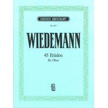 WIEDEMANN 45 Etuden fur Oboe