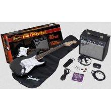 FENDER Squier Affinity Stratocaster Pack 10G BK