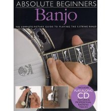 Absolute Beginners Banjo +CD
