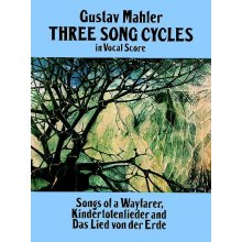 MAHLER G. Three Song Cycles in Vocal Score