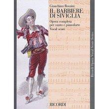 ROSSINI Il Barbiere di Siviglia (vocal score)