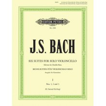 BACH J.S. Suites for solo Cello (for Double Bass) Vol.I (1-3)