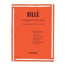 BILLE' I. 18 Studi in tutti i toni