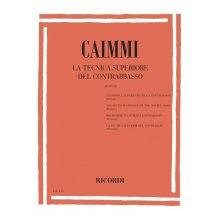CAIMMI I. La tecnica superiore del contrabbasso (20 Studi)