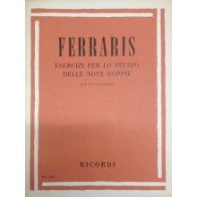 FERRARIS B. Esercizi per lo studio delle note doppie