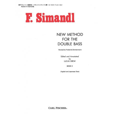 SIMANDL F. New Method for Double Bass book 2