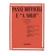 """VERCIANI M. Passi difficili e """"a solo"""" vol.1"""