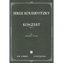 KOUSSEVITZKY S. Konzert Op.3 fur Kontrabbass